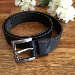 Timberland men's belt 32 black leather